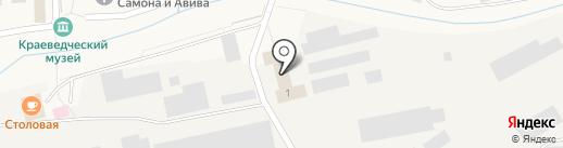 Гурьевский металлургический завод на карте Гурьевска