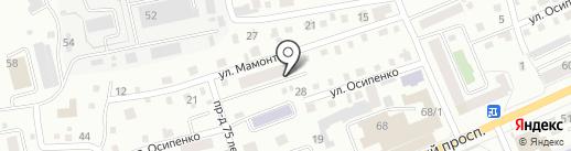 Мамонтова 15, ТСЖ на карте Горно-Алтайска
