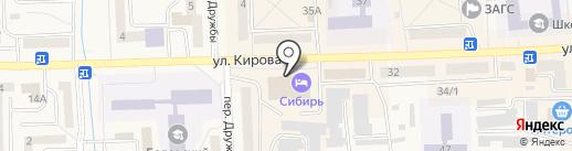 Царь-бочка на карте Гурьевска