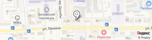 Glamour на карте Гурьевска