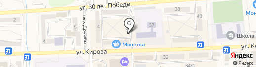 Охотничьи зори на карте Гурьевска
