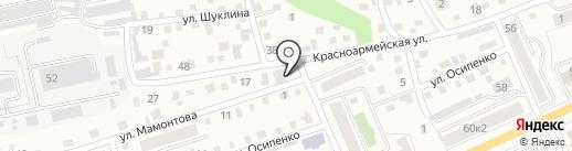 АК офис на карте Горно-Алтайска