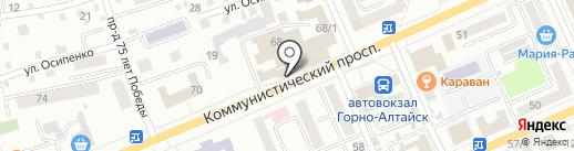АБВ Сервис на карте Горно-Алтайска
