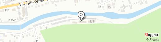 Республиканский Центр туризма, отдыха и оздоровления на карте Горно-Алтайска