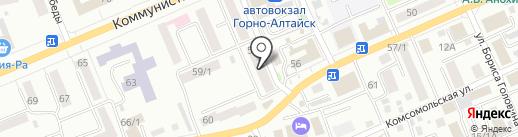 Мастерская по ремонту электродвигателей на карте Горно-Алтайска