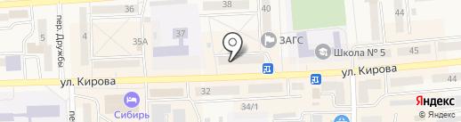 Елена-тур на карте Гурьевска