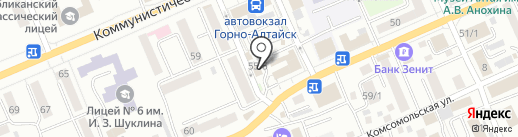 Велес-Н Плюс на карте Горно-Алтайска