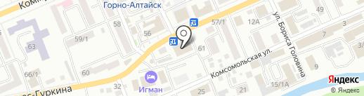 ОТП Банк на карте Горно-Алтайска