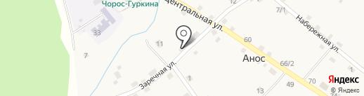 Фельдшерско-акушерский пункт на карте Аноса