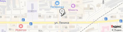 Кармен на карте Гурьевска
