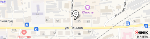 Коллегия адвокатов №79 на карте Гурьевска