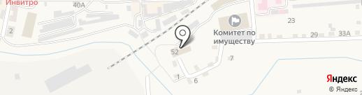 Волна на карте Гурьевска