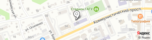 Сельскохозяйственный колледж на карте Горно-Алтайска