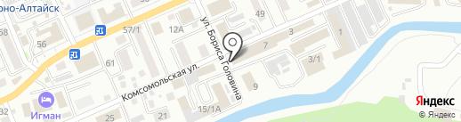 Трапезная на карте Горно-Алтайска