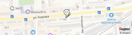 Дуэт на карте Гурьевска