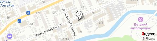 Биос на карте Горно-Алтайска