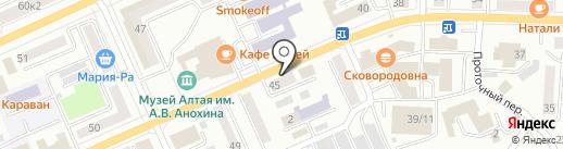Boxberry на карте Горно-Алтайска