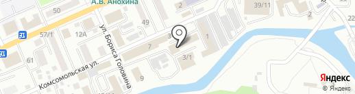 Домовой на карте Горно-Алтайска