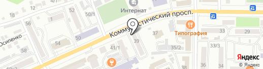 Купеческая лавка на карте Горно-Алтайска