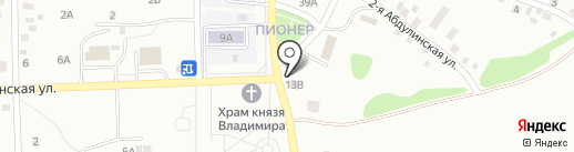 Магазин женской одежды на карте Кемерово