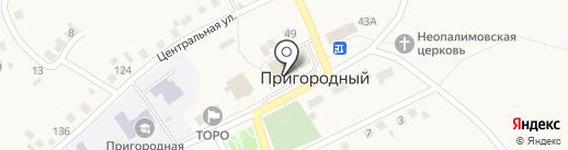 Лавка на карте Пригородного