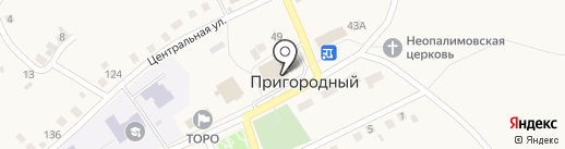 Ольга на карте Пригородного