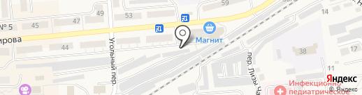 Пункт технического осмотра транспорта на карте Гурьевска