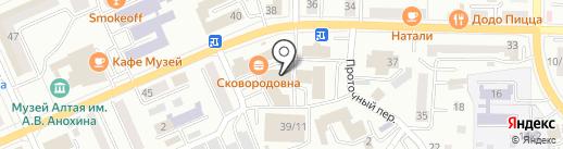 OngNet на карте Горно-Алтайска