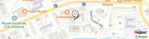 FM-Продакшн Горно-Алтайск на карте Горно-Алтайска