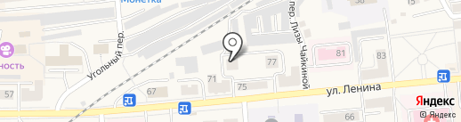 Аптечный пункт №1 на карте Гурьевска