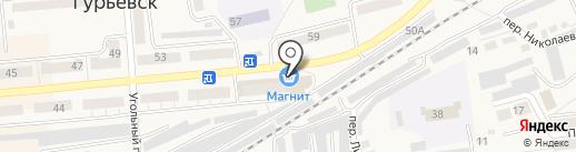 Qiwi на карте Гурьевска
