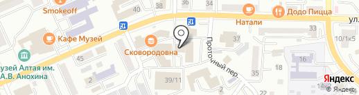 Банкомат, АКБ МОСОБЛБАНК на карте Горно-Алтайска