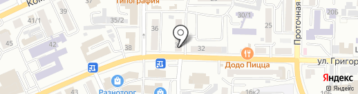 Чорос-Гуркина 34, ТСЖ на карте Горно-Алтайска
