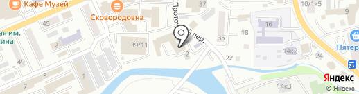 АлтайГазРегион на карте Горно-Алтайска