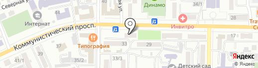 Ассоль на карте Горно-Алтайска
