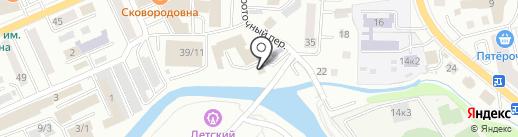 Региональное отделение ДОСААФ России Республики Алтай на карте Горно-Алтайска