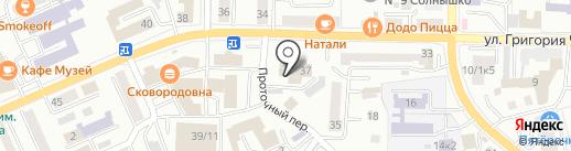 УФСИН России по Республике Алтай на карте Горно-Алтайска