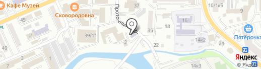 Горно-Алтайская автомобильная школа ДОСААФ России на карте Горно-Алтайска