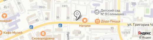 Студия праздничного декора ЮлиChe на карте Горно-Алтайска
