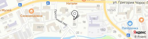 Союз писателей Республики Алтай на карте Горно-Алтайска