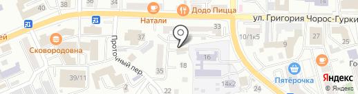 Фито-ПаМ на карте Горно-Алтайска