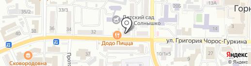 Мастер отдыха на карте Горно-Алтайска