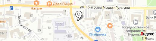 Магазин автозапчастей для ВАЗ на карте Горно-Алтайска