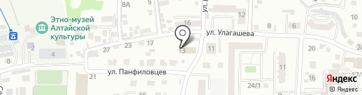 Консалтинговая Группа на карте Горно-Алтайска