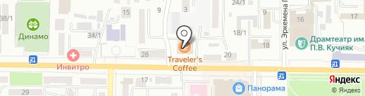 Банкомат, АКБ Ноосфера на карте Горно-Алтайска