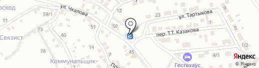 Байат на карте Горно-Алтайска