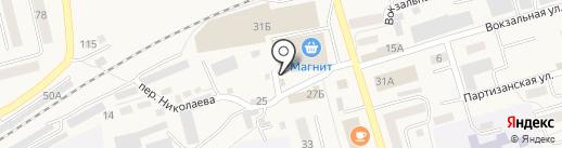 Любава на карте Гурьевска