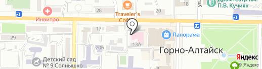 Отделение скорой медицинской помощи Республики Алтай на карте Горно-Алтайска