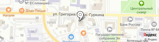 Магазин спецодежды на карте Горно-Алтайска