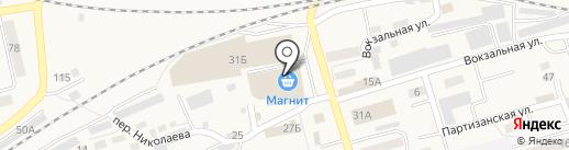 Пивник на карте Гурьевска